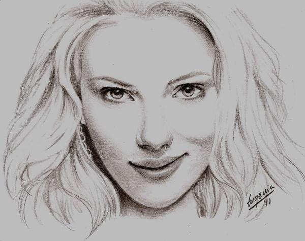 Scarlett Johansson par sika